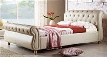 מיטה זוגית מרופדת נסיכה