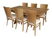 שולחן אוכל ברקת קטן - בית אלי - אולם תצוגה לרהיטים