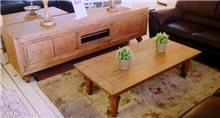 בית אלי - אולם תצוגה לרהיטים - מזנון ושולחן סיינה