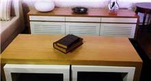 בית אלי - אולם תצוגה לרהיטים - מזנון ושולחן מנהטן