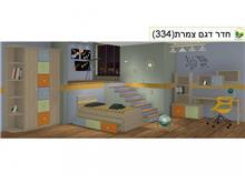 חדר ילדים פטל - בית אלי - אולם תצוגה לרהיטים