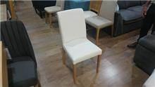 כסא אוכל לבן אלגנטי