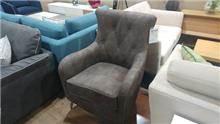 כורסא אפורה כהה - בית אלי - אולם תצוגה לרהיטים
