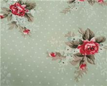 מפת שולחן נקודות ופרחים
