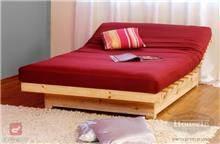 מיטות פוטון מעץ מלא ספרינג