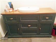 HouseIn - שידת אמבטיה ירוקה