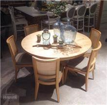 שולחן אוכל עגול וייחודי - HouseIn