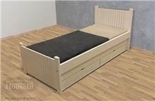 מיטת ילדים מעץ מלא ניב