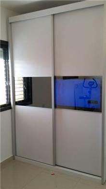 Doors - ארון הזזה לבן