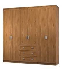 ארון בגדים 6 דלתות מילנו - Best Bait Design