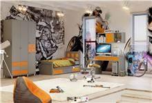 ריהוט חדר ילדים קומפלט עלמה - Best Bait Design
