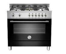 תנור משולב כיריים גז שחור X365MFNE - Aristo Shop