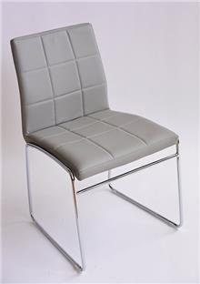 כסא מרופד אריק אפור - מסובין
