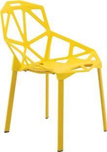 כסא דגם ספיר צהוב - מסובין
