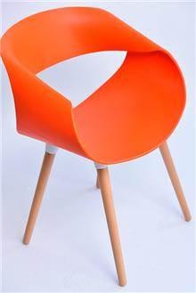 כסא דגם כרמל כתום - מסובין