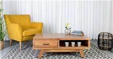 שולחן סלון עץ מילאנו 120 - Besto