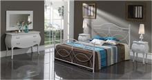 מיטה זוגית ממתכת - DUPEN (דופן)