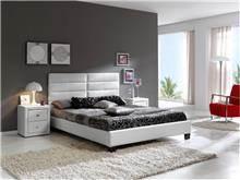 DUPEN (דופן) - מיטה זוגית מרופדת