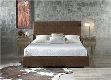 מיטה זוגית חומה - DUPEN (דופן)