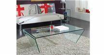 DUPEN (דופן) - שולחן זכוכית
