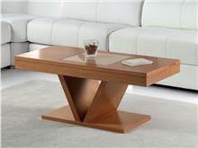 שולחן עץ לסלון - DUPEN (דופן)