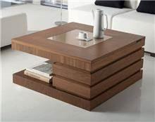 שולחן סלון אסימטרי - DUPEN (דופן)
