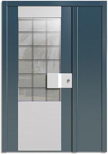 רשפים  - דלתות כניסה פאסקרה כנף וחצי