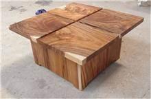 שולחן לסלון - Treemium - חלומות בעץ מלא