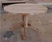 Treemium - חלומות בעץ מלא - שולחן עגול עץ