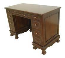 שולחן משרד במראה קלאסי - Treemium - חלומות בעץ מלא
