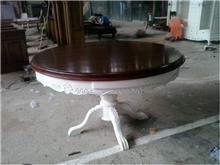 שולחן עגול מעוצב - Treemium - חלומות בעץ מלא