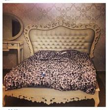 מיטה זוגית מלכותית - Treemium - חלומות בעץ מלא