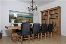 שולחן ארוך עץ מלא - Treemium - חלומות בעץ מלא