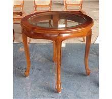שולחן קפה עגול - Treemium - חלומות בעץ מלא