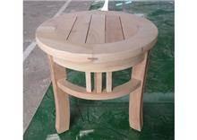 Treemium - חלומות בעץ מלא - שולחן צד מעץ
