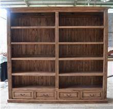 ארון ספרים גדול - Treemium - חלומות בעץ מלא
