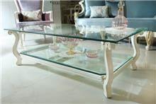שולחן סלון מזכוכית - Treemium - חלומות בעץ מלא