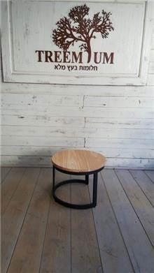 שולחן קפה אופנתי - Treemium - חלומות בעץ מלא