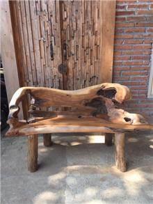 ספסל שורש ייחודי 120 - Treemium - חלומות בעץ מלא