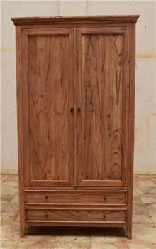 ארון בגדים 2 דלתות - Treemium - חלומות בעץ מלא