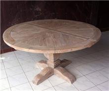 שולחן עגול ומעוצב - Treemium - חלומות בעץ מלא