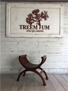 כיסא אוכף - Treemium - חלומות בעץ מלא