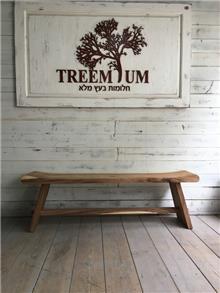 ספסל מעוצב לגינה - Treemium - חלומות בעץ מלא