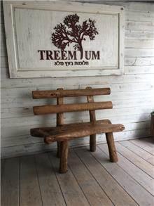 ספסל שורש עץ טיק - Treemium - חלומות בעץ מלא