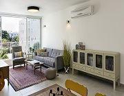 עיצוב פנים של דירה בנאות אפקה עבור זוג הורים, שני ילדיהם וכלב
