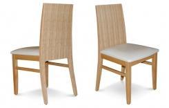 כסא אוכל מעץ אלון - שמרת הזורע