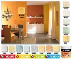 צבע לקירות למראה ענתיקה - טמבור