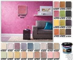 צבעים לקירות למראה קטיפתי - טמבור
