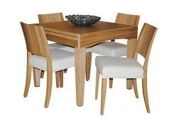 שולחן אוכל מרובע - שמרת הזורע
