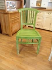 כיסא ירוק  - Treemium - חלומות בעץ מלא